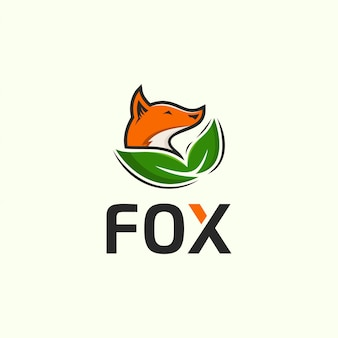 Fox logo sjabloon