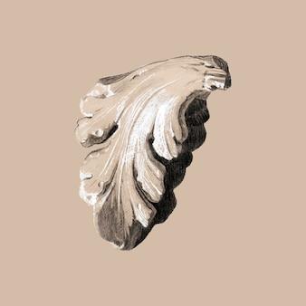 Fragment vectorillustratie, geremixt van kunstwerken van sir edward coley burne & ndash; jones