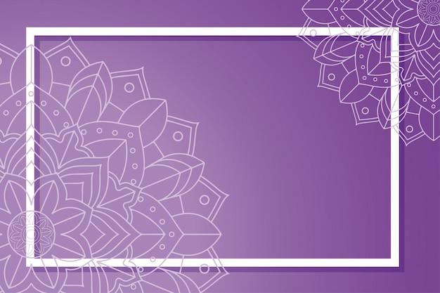 Frame met mandala decoraties