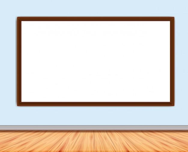 Frame met plank en vloer