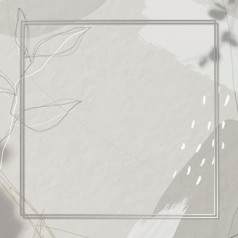 Frame op memphis patroon achtergrond
