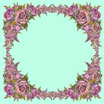 Frame van bloemen