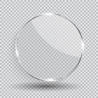 Frame van transparant glas