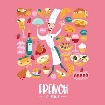 Franse keuken traditionele gerechten uit frankrijk
