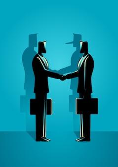 Fraude overeenkomst concept