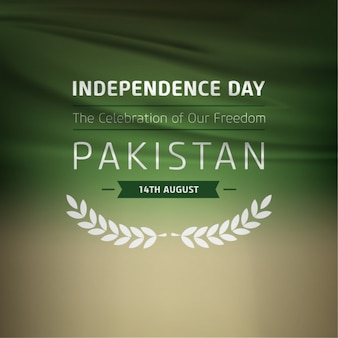 Freedom celebration pakistan label