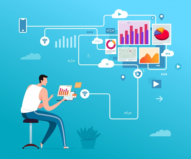 Freelance data-analyse en webprogrammeur