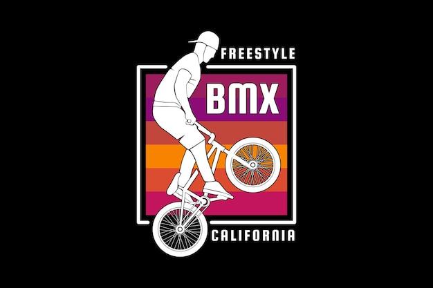 .freestyle bx, ontwerp slib retro stijl