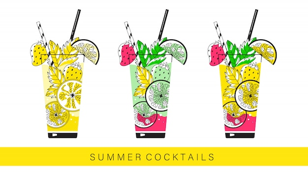 Frisdranken zomer