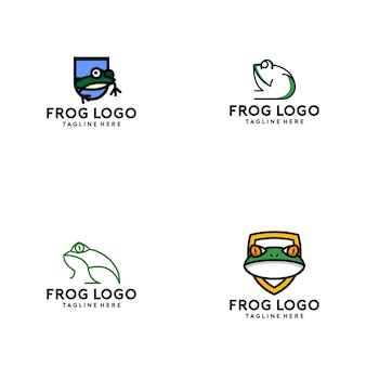 Frog logo collection