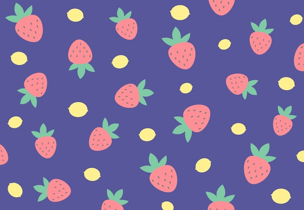 Fruit achtergrond vector