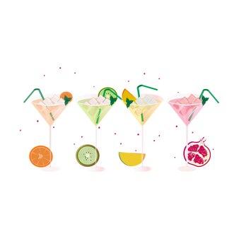 Fruit cocktail collectie