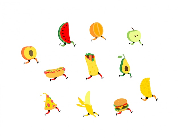 Fruit en fast food