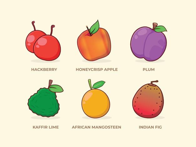 Fruit instellen