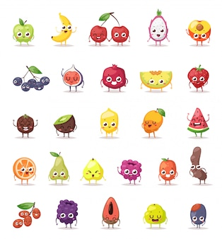 Fruit karakters