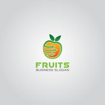 Fruit marketing logo
