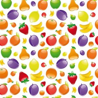 Fruit naadloos patroon