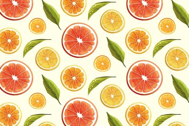 Fruit patroon concept