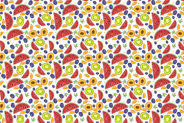 Fruit patroon