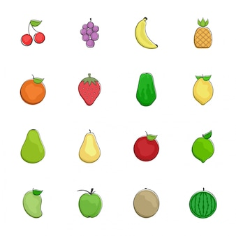Fruit pictogram