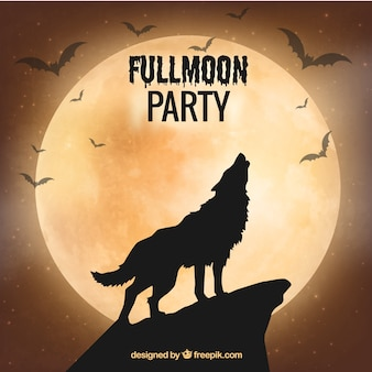 Fullmoon party ontwerp