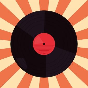 Funk disco vinyl