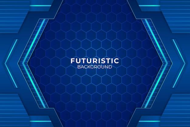 Futuristisch blauw als achtergrond