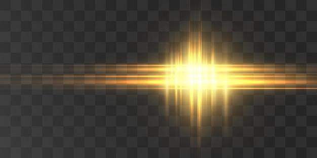 Futuristisch lichteffect voor vectorillustraties