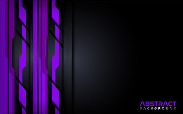 Futuristisch paars modern technologie abstract achtergrondontwerpmalplaatje.