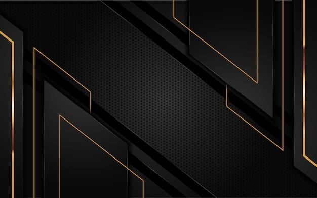 Futuristisch zwart abstract ontwerp als achtergrond. grafisch ontwerpelement.