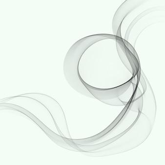 Futuristische abstracte achtergrond met vloeiende lijn moderne grijze lay-out. grijze golfstroom
