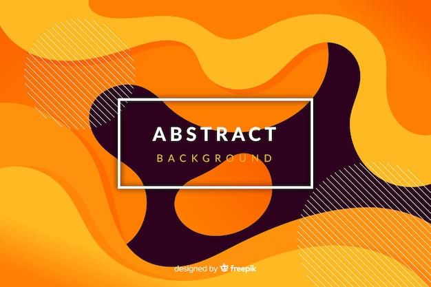 Futuristische abstracte vloeibare vloeibare achtergrond