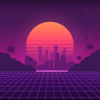 Futuristische achtergrond