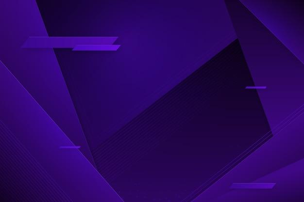 Futuristische glitched violette achtergrond met exemplaarruimte