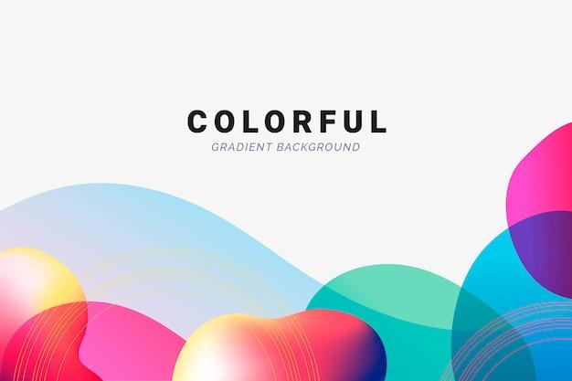 Futuristische gradient achtergrond