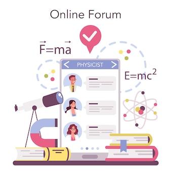 Fysicus online service of platform
