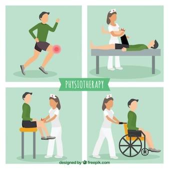Fysiotherapie situaties