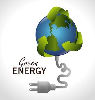 Ga groen ontwerp.