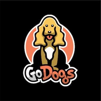 Ga honden logo