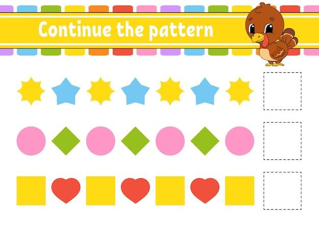 Ga verder met het patroon