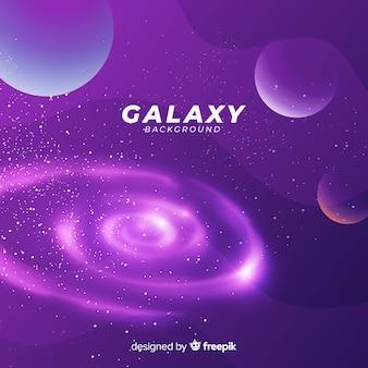 Galaxy achtergrondontwerp