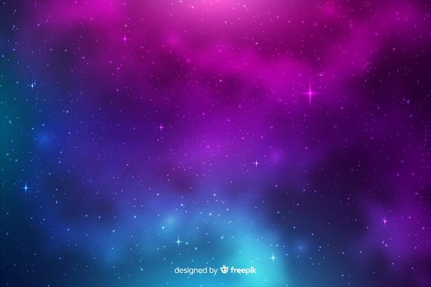 Galaxy deeltjes achtergrond