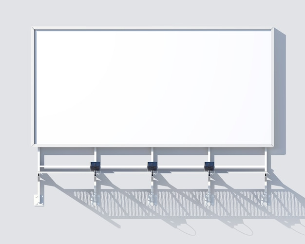 Gallery billboard blank