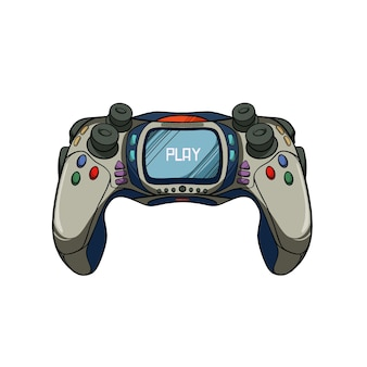 Game joystick controller illustratie