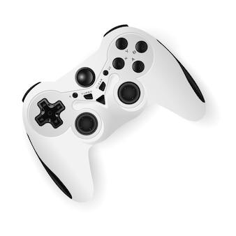 Gamepad mockup vectorillustratie. game joystick