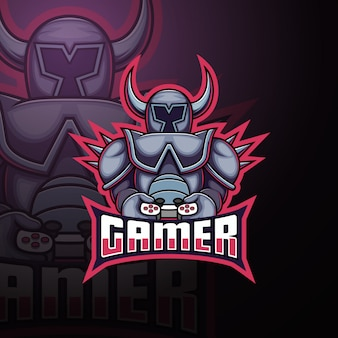 Gamer team esport mascotte logo