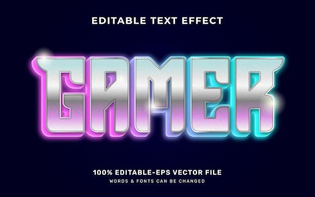 Gamer-teksteffect
