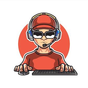 Gamers mascot-logo