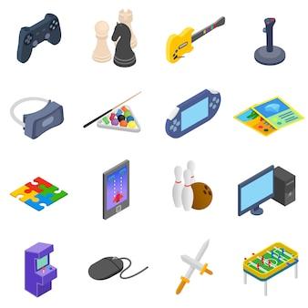 Games pictogrammen instellen
