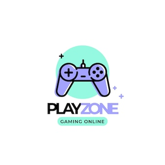 Gaming logo sjabloon
